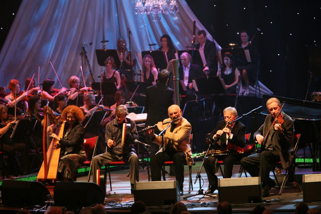 The Chieftains with orchestra
